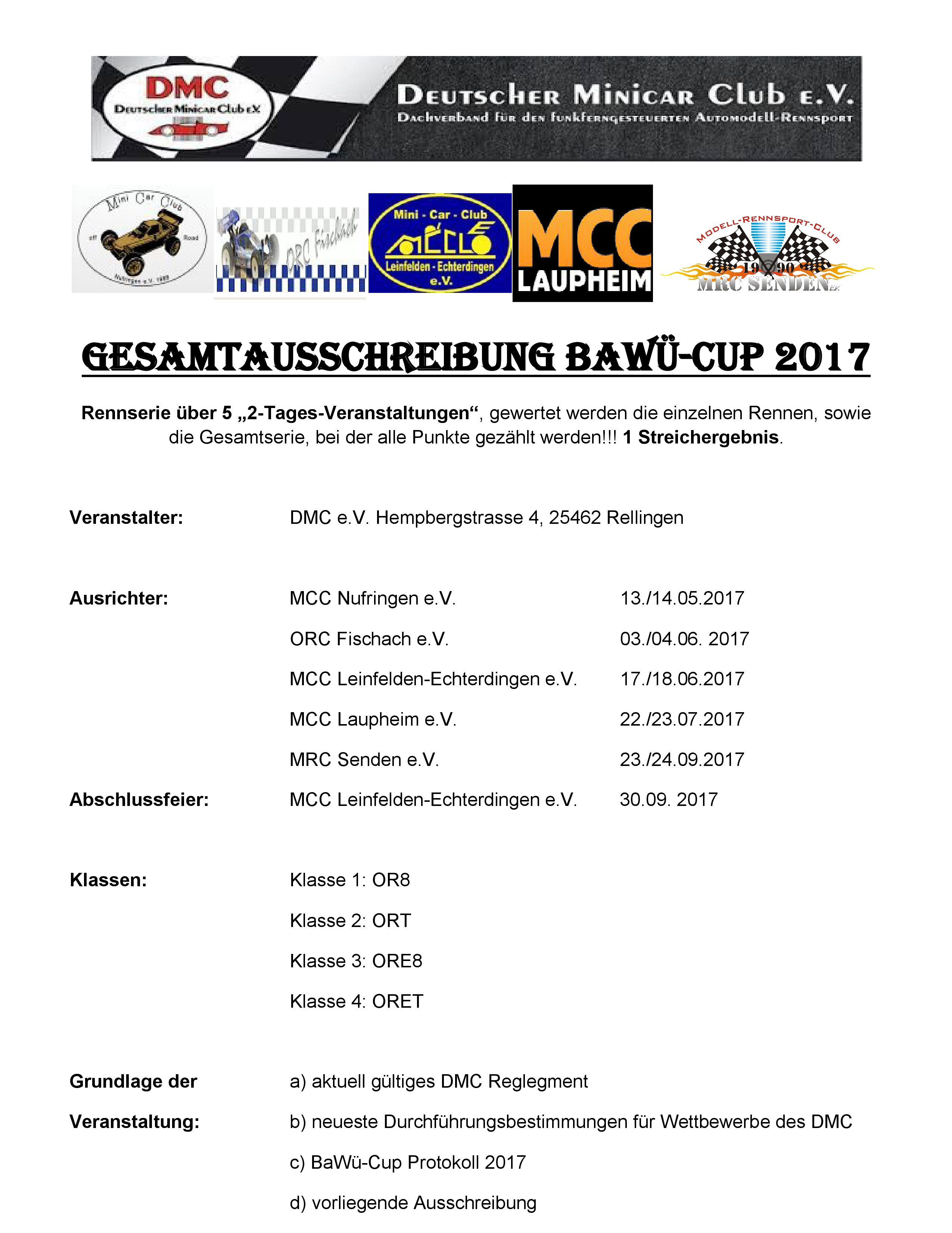 Gesamtausschreibung BaWu 2017-001